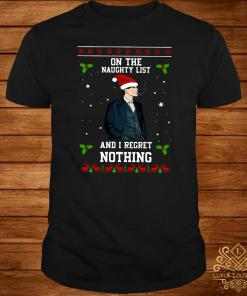 Thomas Shelby On The Naughty List And I Regret Nothing Ugly Christmas Sweater