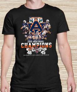 2019 Iron Bowl Champions 2019 Auburn Tigers Alabama Unisex