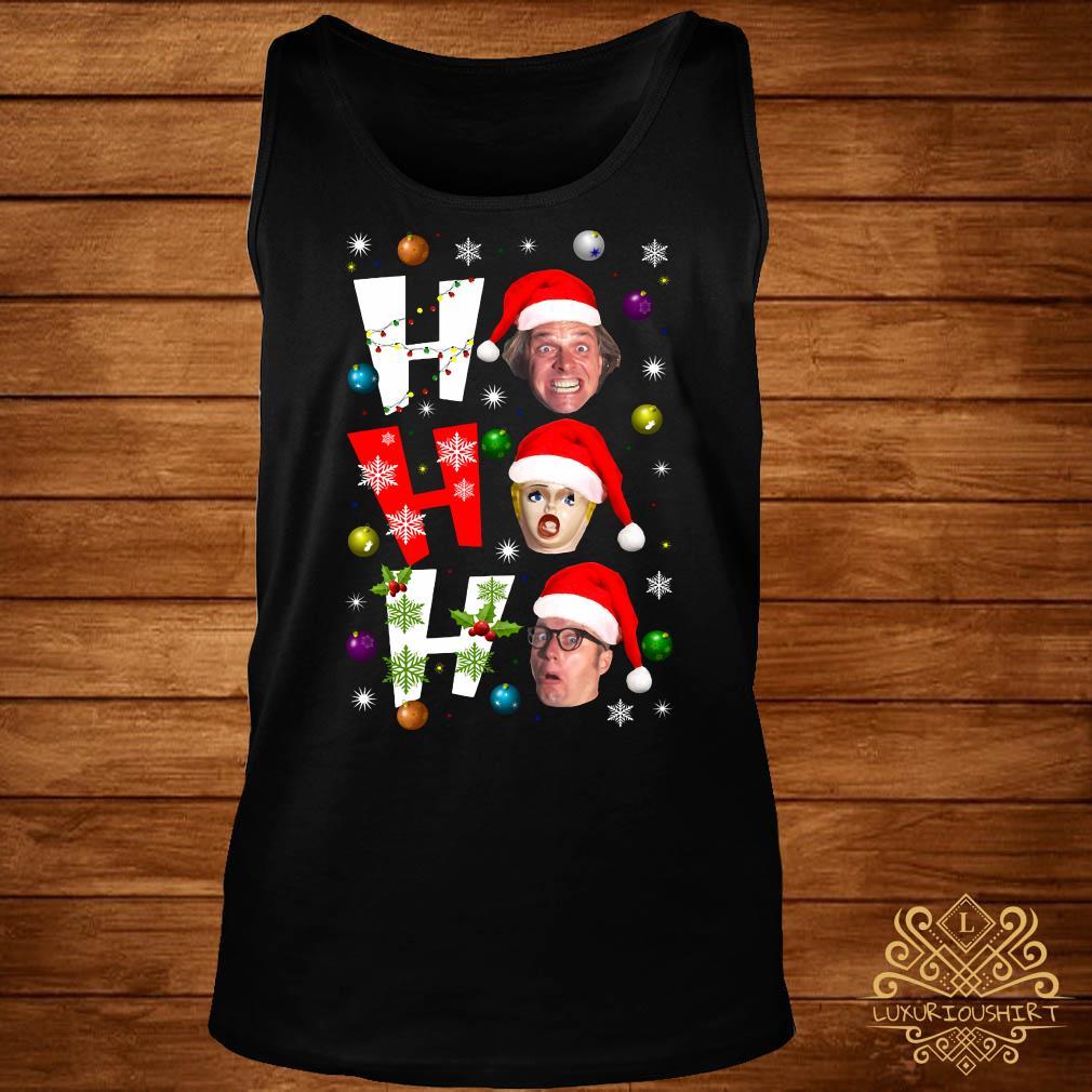 Bottom Ho Ho Ho Christmas Tank-top