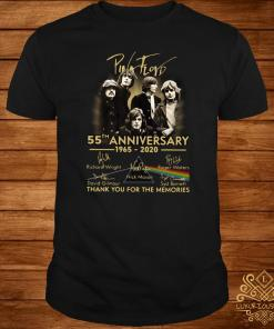 Pink Floyd 55th Anniversary 1965 2020 Thank You For The Memories Shirt