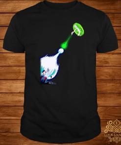Son Goku Kamehameha Rick Sanchez Shirt