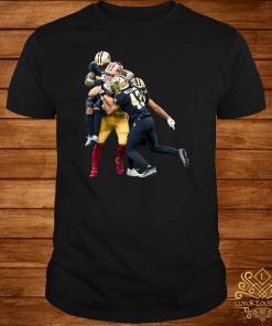 Sprint Football San Francisco 49ers And New Orleans Saints Shirt