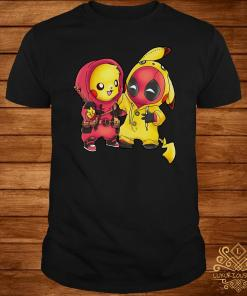Baby Deadpool And Baby Pikachu Shirt