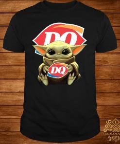 Baby Yoda Hug Dairy Queen Shirt