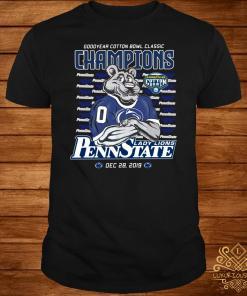 Goodyear Cotton Bowl Classic Champions Nittany Lions Penn State Shirt