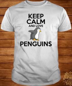 Keep Calm And Love Penguins Shirt