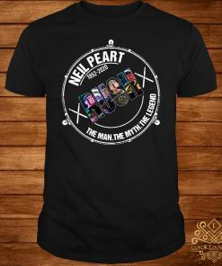 Neil Peart 1952 2020 Rush The Man The Myth The Legend Shirt