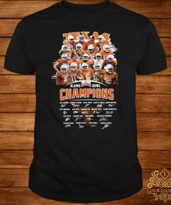 Texas Alamo Bowl Champions Signature Shirt