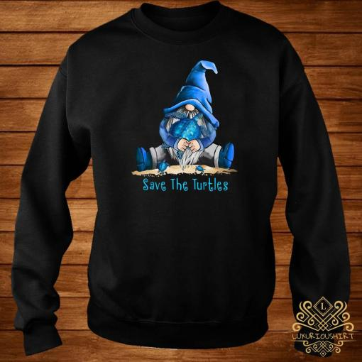 Gnome Save The Turtles Sweater