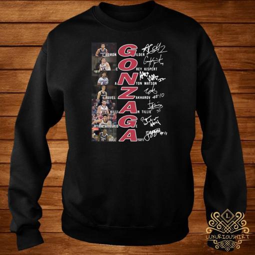 Gonzaga Basketball All Team Signature Sweater