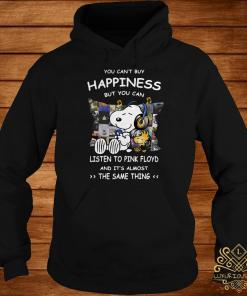 Snoopy And Woodstock You Can't Buy Happiness But You Can Listen To Pink Floyd Hoodie