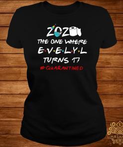 2020 The One Where Kristin Turns 30 #quarantined Ladies Tee