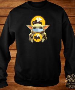 Baby Yoda Mask Hug Buffalo Wild Wings Sweater