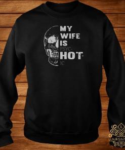 Skull My Wife Is Psychotic Sweater