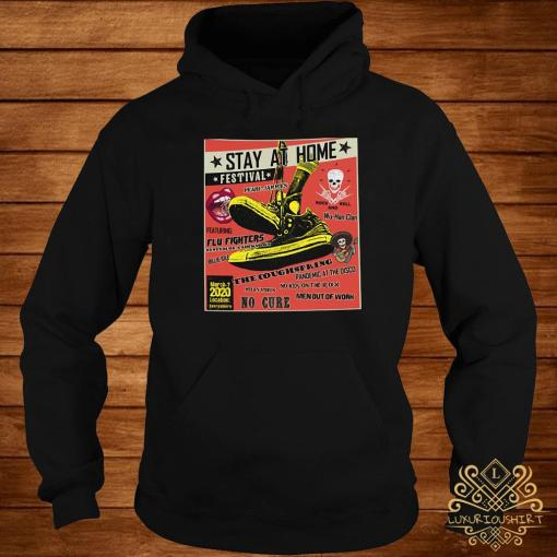 Stay At Home Festival The Coughspring No Cure Shirt hoodie