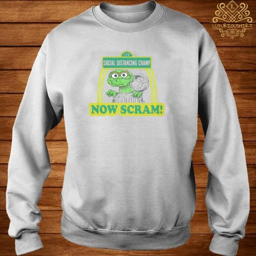 123 Social Distancing Champ Now Cram Shirt sweater