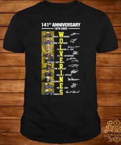 141st Anniversary 1879 2020 Wolverines Charles Woodson Desmond Howard Fielding Shirt