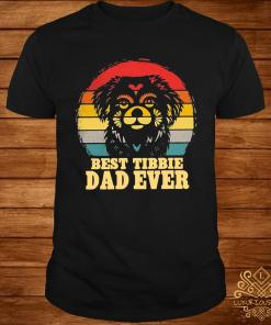 Best Tibbie Dad Ever Vintage Shirt