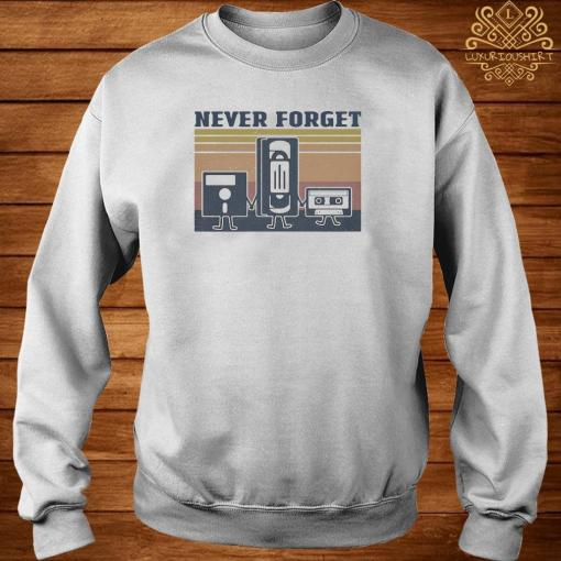 Cinematography Never Forget Vintage Shirt sweater