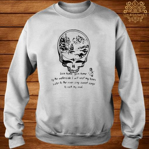 Grateful Dead Goin Home By The Waterside Shirt sweater