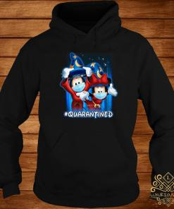 Mickey And Minnie Mouse Mask Fantasia Quarantined Shirt hoodie