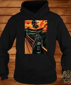 Munch The Scream Darth Vader Star War Shirt hoodie