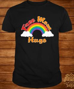 Rainbow Free Mom Hugs Lgbt Shirt
