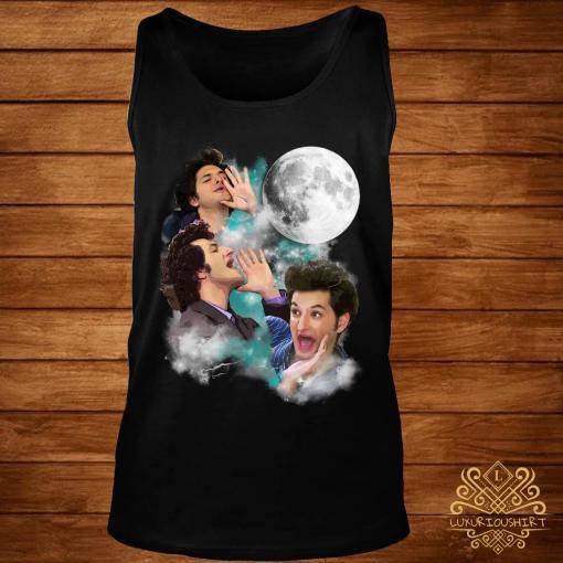 Three Jean Ralphio Moon Shirt tank-top