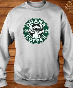 Stitch Ohana Coffee Shirt sweater