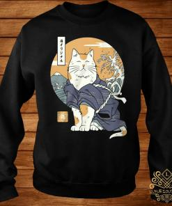Cat Samurai Shirt sweater