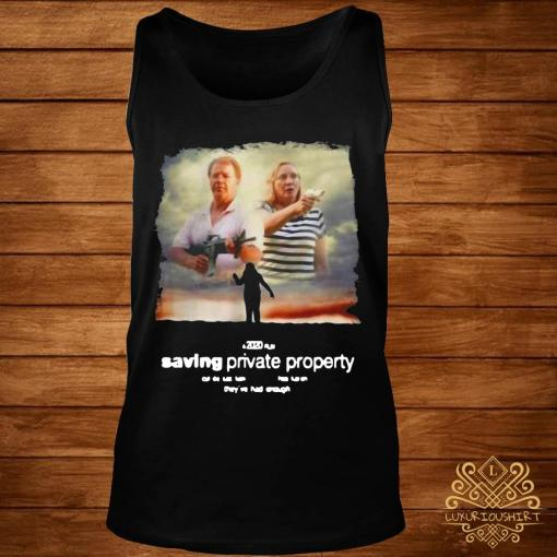 Ken And Karen Saving Private Property Shirt tank-top