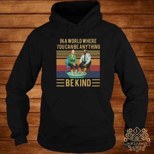 Mister Rogers Gay Police In A World Where You Can Be Anything Bekind Vintage Shirt hoodie