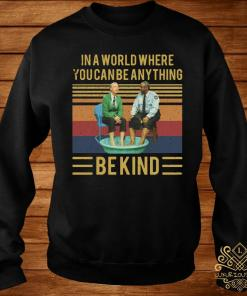 Mister Rogers Gay Police In A World Where You Can Be Anything Bekind Vintage Shirt sweater