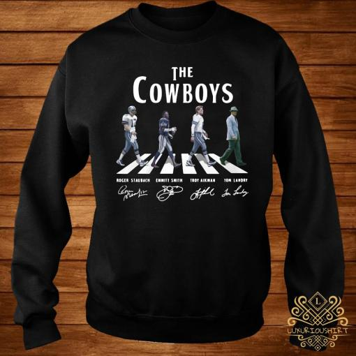 The Cowboys Abbey Road Signatures Shirt sweater