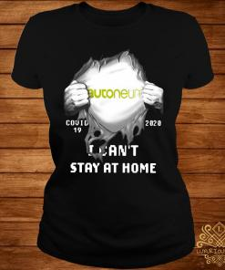Autoneum Inside Me Covid-19 2020 I Can't Stay At Home Shirt ladies-tee
