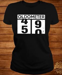 Oldometer 45 90 Shirt ladies-tee