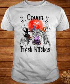 Raccoon Coven Of Trash Witches Shirt
