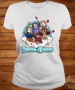 Scare Bears Horror Movie Characters Shirt ladies-tee