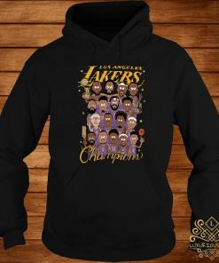 All Player Los Angeles Lakers Cartoon Champions Shirt hoodie