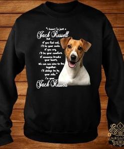 I Know I'm Just A Jack Russell But If You Feel Sad I'll Be Your Smile If You Cry I'll Be Your Comfort Shirt sweater