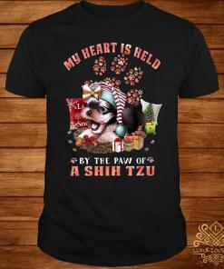 My Heart Is Held By The Paw Of A Shih Tzu Shirt