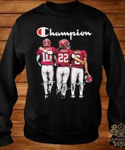 Alabama Crimson Tide Mac Jones Harris Smith Champion Signatures Shirt sweater