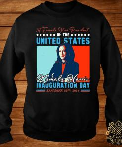 Harris First Female Vice President Biden Harris 2021 Inauguration Day Shirt sweater