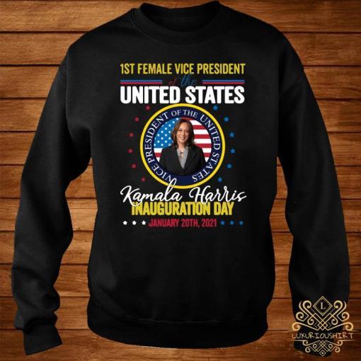 Kamala Harris First Female Vice President Inauguration Day Shirt sweater