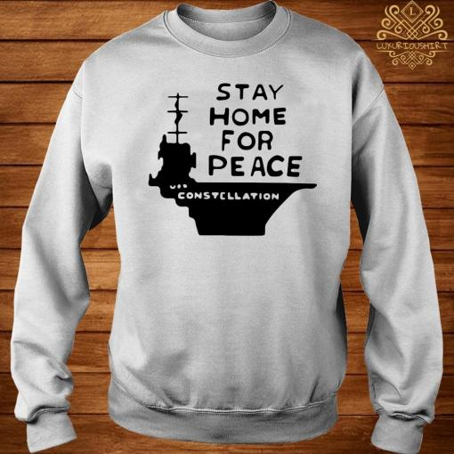 Stay Home For Peace Joan Baez Shirt sweater