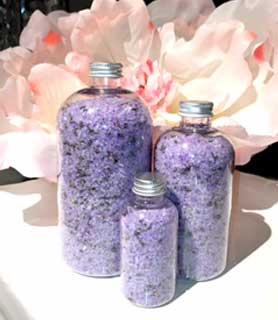 Lavender Vanilla Bath Salt