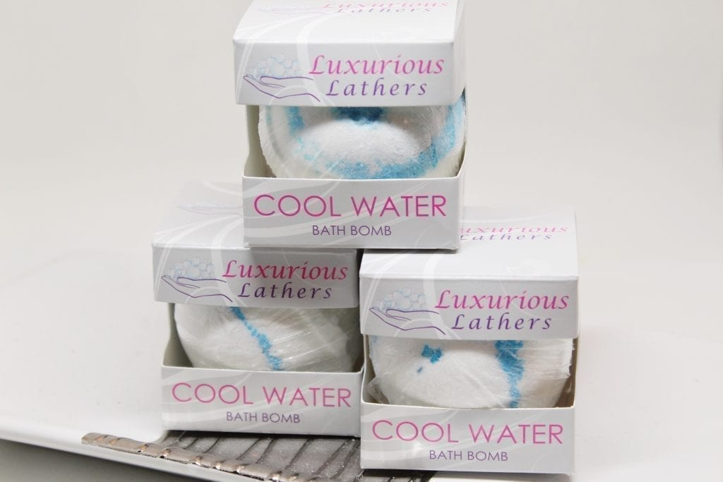 Cool Water Bath Bomb