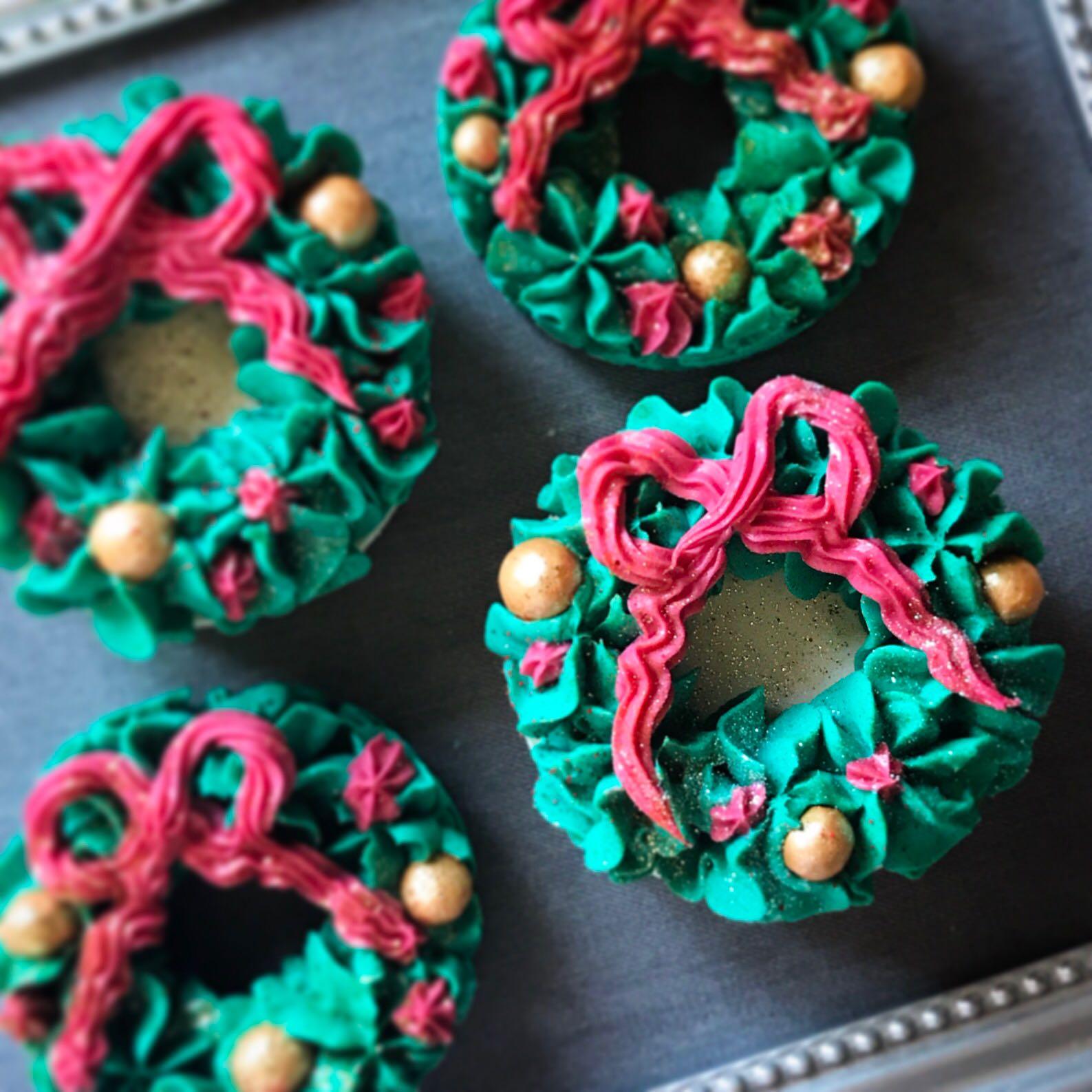 Christmas Wreath Soap