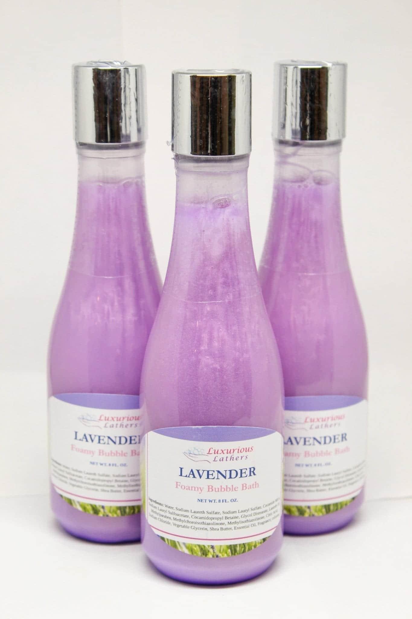 Lavender Foamy Bubble Bath