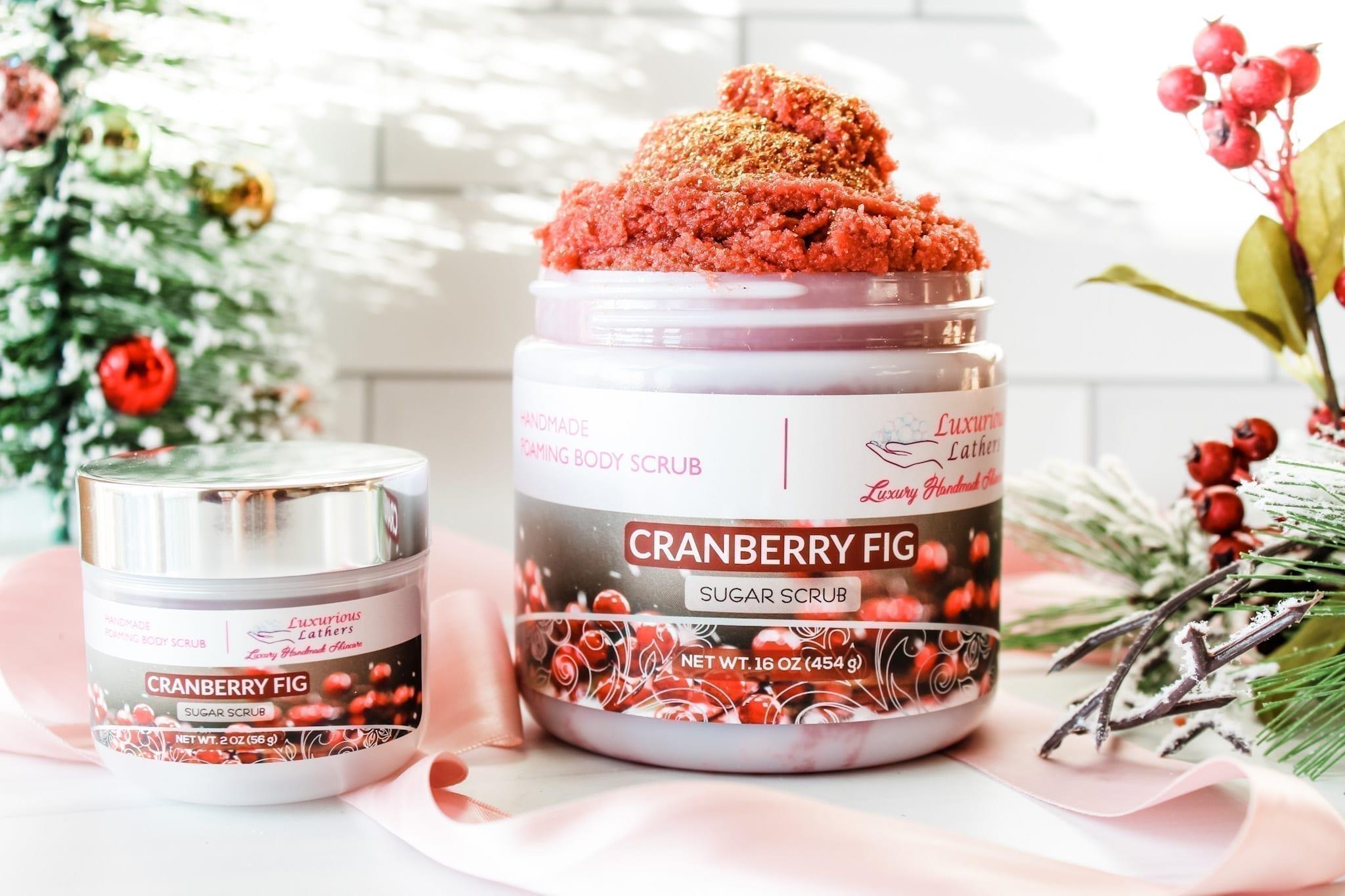 Cranberry Fig Foaming Body Scrub